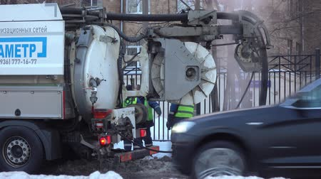 kanalizace : Sewage machine on the street