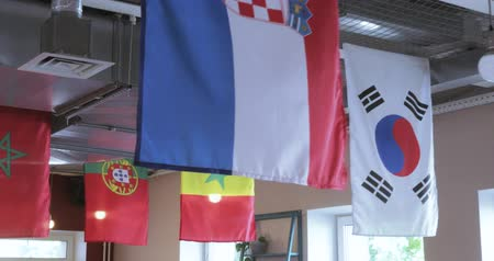 estandarte : Flags of countries of the World Cup
