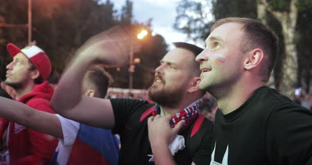 gory : Festival of fans of FIFA on the Sparrow Hills