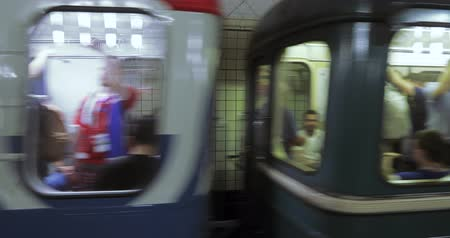 fanatics : Football fans in the subway