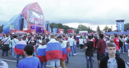 fan fest : Festival of fans of FIFA on the Sparrow Hills