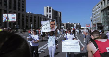 political prisoner : Banner with Sentsov