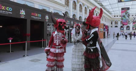 aztecs : Mexican Carnival Celebration of the dead