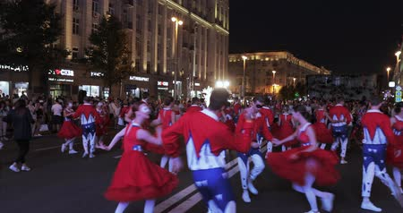 folk holiday : Ballet performance at the celebration