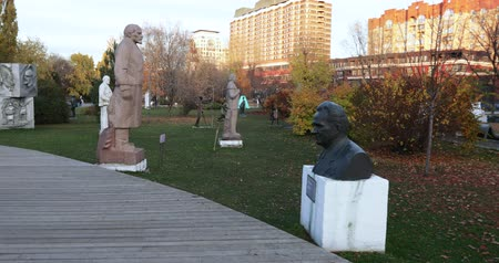 fővárosok : Monuments to Soviet leaders of the USSR