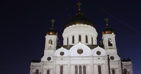 crença : View of the Cathedral of Christ the Savior Vídeos