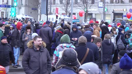 лозунг : Rally in support of the boycott in 2018