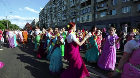 dal : Ratha Yatra in city of Dnepr