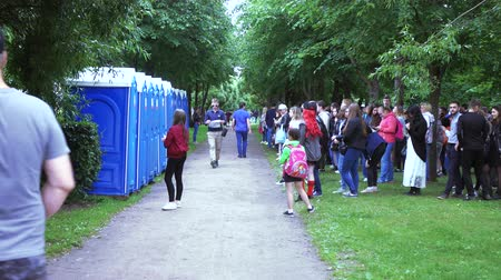 septic : Public toilets in the park