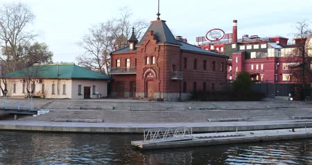 View of the Moscow River Imperial Yacht Club