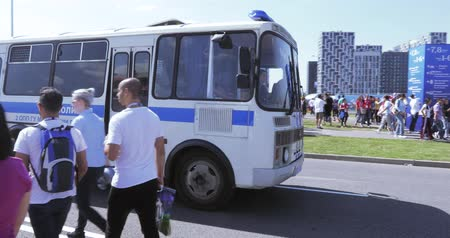 Russian police bus