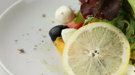 ocet : Fresh Greek salad Wideo