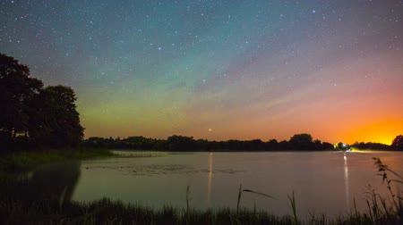 astronomie : Starry Nacht am See