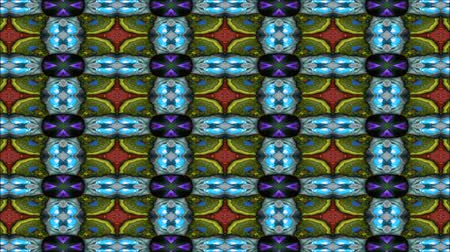 muster retro : Kaleidoskopische Tapete nahtlose Loop Animation Videos