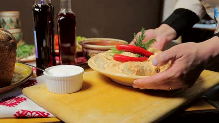 fresh food : Traditional Ukrainian and Russian food