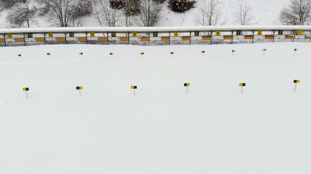 golyó : Biathlon. Panorama of targets for shooting during the biathlon. The numbering of the targets