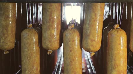 níveis : Only made sausage, which is ready for baking in the oven. Raw, not ready sausage on the shelves.