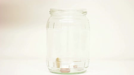 mince : Euro and coin savings in a jar