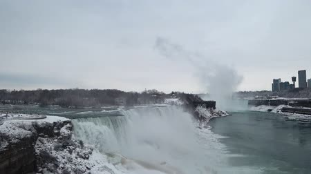 américa do norte : beautiful niagara falls