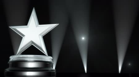 premiere : Silver Star Award Stock Footage