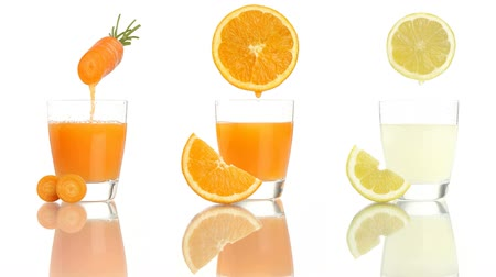 meyve suyu : carrot orange lemon juice vitamin a c e
