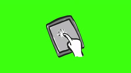 robbed : Animated Hand Drawn Element Sketches. This clip has an Green Screen . This makes it easy to composite this clip onto your footage. This clip is also loopable, so you can repeat the clip at the ends for one seamless loop.