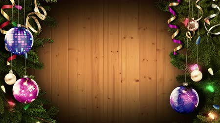 azevinho : Bright festive Christmas frame. looped