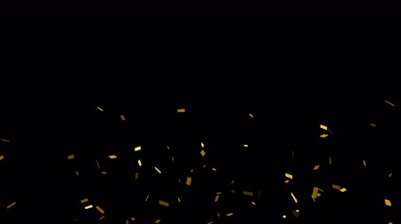 to celebrate : Bright dynamic and festive confetti, which will be useful for any material. Will help to convey a festive mood or brightly complement the presentation. looped Stock Footage