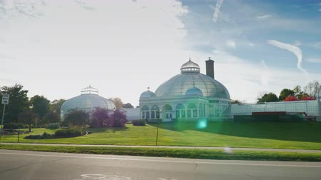 architekt : Buffalo, New York - Oktober 2016: Der Buffalo und Erie County Botanical Gardens