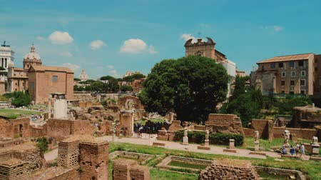 palatine : Famous Roman Forum. One of the most famous and popular tourist destination in Rome and Italy