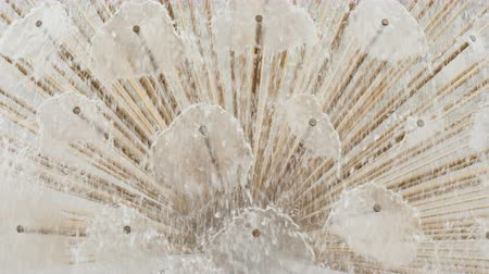 hydratační : A close-up of a detail of a fountain - water flows from thin pipes. Background of water jets Dostupné videozáznamy