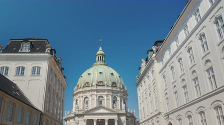 copenhagen : The Church of Frederick or the Marble Church is a Lutheran church, one of the attractions of Copenhagen