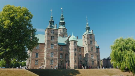 copenhagen : Rosenborg - the former residence of the Danish kings, built on the orders of King Christian IV on the outskirts of Copenhagen in 1606-1624