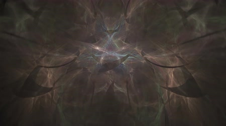 detalhado : Abstract fractal forms morph and oscillate (Loop)