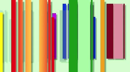 expressionism : Color Movement Study Design in green