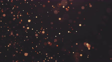 mléčný : Flickering Particles, random motion of particles.On beatiful relaxing Background. Glittering Particles With Bokeh in volumetric light Dostupné videozáznamy