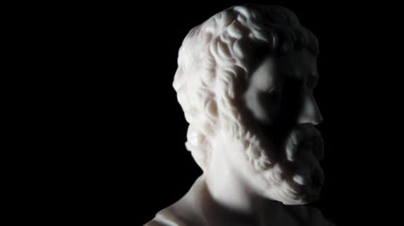 platon : Sophocles was a Greek tragic poet of the classical era Stock Footage