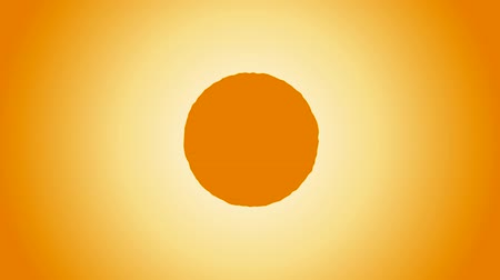 Animation of the sun