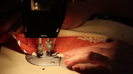 tome : Sewing Machine in Work Stock Footage