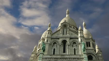 francja : Basilica of the Sacred Heart, Paris, France