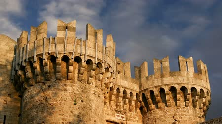 most : Rhodes Island, Greece, a symbol of Rhodes, of the famous Knights Grand Master Palace (also known as Castello) in the Medieval town of rhodes, a must-visit museum of Rhodes Dostupné videozáznamy