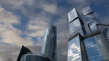 perspectiva : Skyscrapers of the International Business Center (City), Moscow, Russia