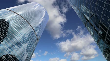 kantoor : Wolkenkrabbers van het International Business Center City, Moskou, Rusland