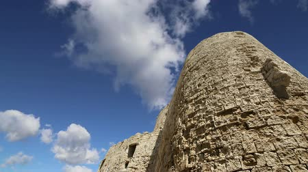 travell : Rhodes Tower of St. Nicholas, Greece time lapse