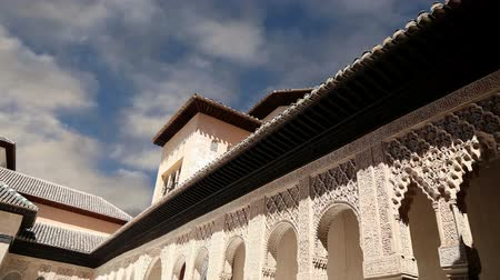 saray : Alhambra Palace - medieval moorish castle in Granada, Andalusia, Spain