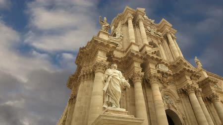 CATHEDRAL OF SYRACUSE (Siracusa, Sarausa) - historic city in Sicily, Italy