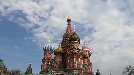 базилика : Saint Basil cathedral (Temple of Basil the Blessed), Red Square, Moscow, Russia