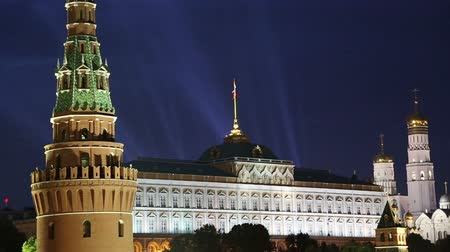 moscow : view of the Kremlin, Moscow, Russia - the most popular view of Moscow