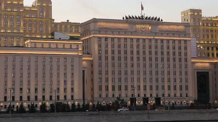 main : The Ministry of Defense of the Russian Federation (Minoboron), at night-- is the governing body of the Russian Armed Forces. Moscow, Russia