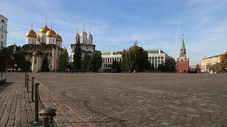 palace complex : Inside of Moscow Kremlin, Russia (day)